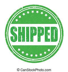 bélyeg, shipped
