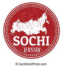 bélyeg, sochi