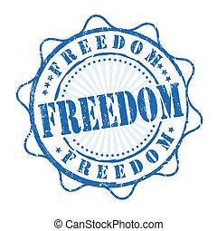bélyeg, szabadság