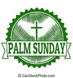 bélyeg, vasárnap, pálma