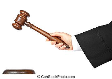 bíró, bemond, döntés