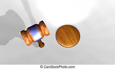 bírók, kalapács
