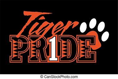 büszkeség, tiger