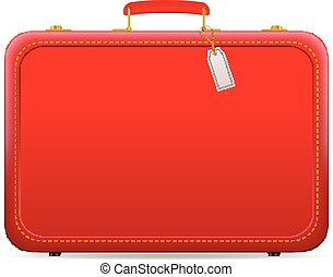 bőrönd, utazás