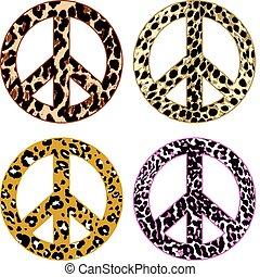 bőr, béke, szőr, állat, aláír
