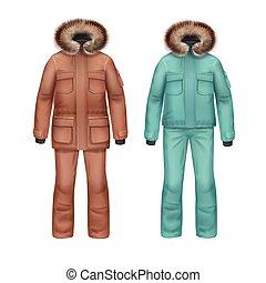 bőr, tél, nadrág