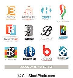 b betű, állhatatos, levél, ügy icons