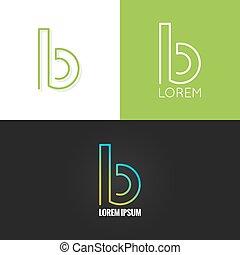 b betű, háttér, abc, díszlet tervezés, levél, jel, ikon