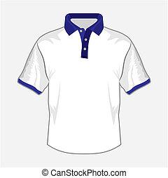 b betű, ing, sötét, tervezés, póló, fehér
