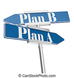 b betű, terv, cégtábla