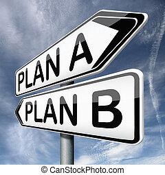b betű, terv, vagy