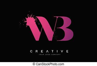 b betű, wb, bukás, fekete, vízfestmény, loccsanás, tervezés, nyugat, tinta, levél, jel, vector.