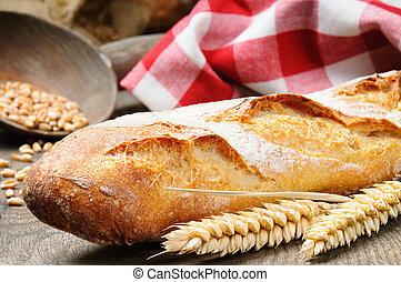 baguette, francia