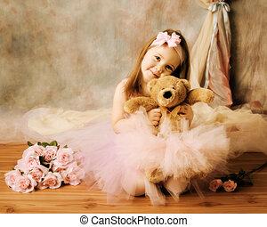 balerina, kevés, szépség