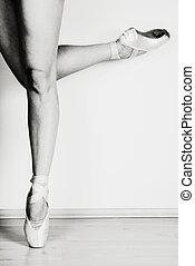 balerina, poén