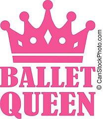 balett, királyné