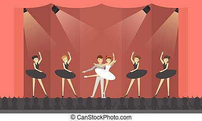balett, theater.