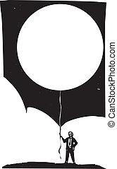balloon, üres