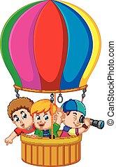 balloon, gyerekek