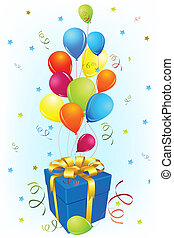 balloon, születésnap kártya, tehetség