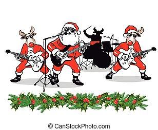 banda, karácsony