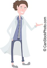 barátságos orvos, fiatal