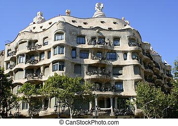 barcelona, építészet