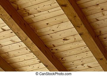 barna, erdő, természetes, struktúra, példa