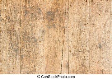 barna, fal, struktúra, erdő, háttér, grungy, palánk