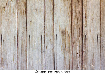 barna, fal, struktúra, háttér., erdő, grungy, palánk