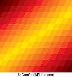 barna, gyémánt, színes, alakú, shapes-, motívum, elvont, ismétlődő, ábra, ez, befest, vektor, narancs, háttér, őt consists, geometriai, elkészített, graphic., piros