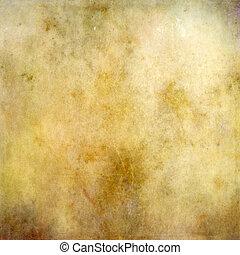 barna papír, háttér, struktúra, szüret
