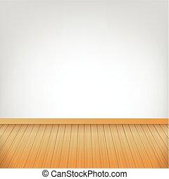 barna, szoba, hely, fal, fa padló, struktúra, 002, vektor, ábra, háttér, fehér, üres