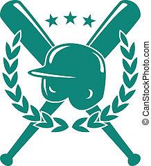 baseball, bajnokság, embléma