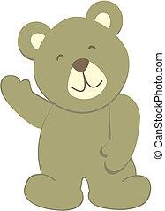 bear8, teddy-mackó