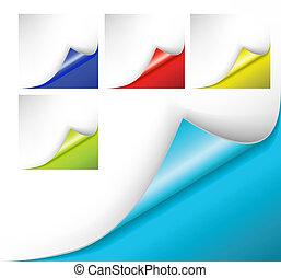 becsavar, színes, hajópapírok