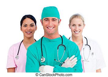 becsvágyó, orvosi sportcsapat, portré