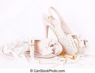 befűz, cipők, lakodalmi, gyönyörű
