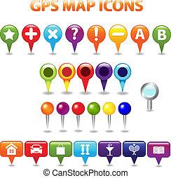 befest térkép, gps, ikonok