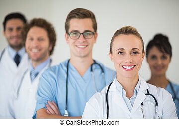 befog, mosolygós, orvosi