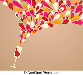 beijedt, háttér, bor