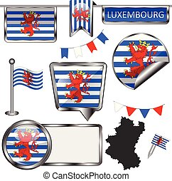 belgium lobogó, luxemburg, sima, ikonok