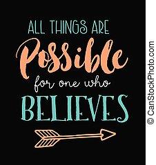 believes, minden, ruhanemű, egy, lehetséges