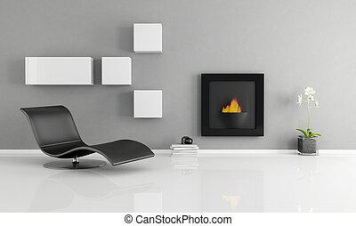 belső, minimalista