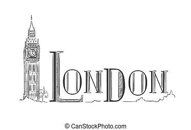 ben, london, nagy, felirat