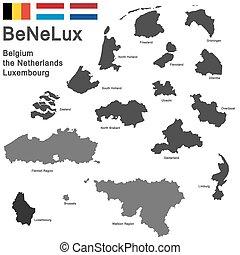 benelux-, országok