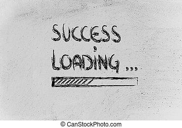 berakodás, tábla, bár, siker, előrehalad