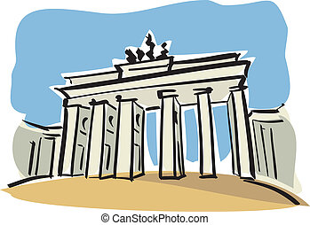 berlin, gate), (brandenburg