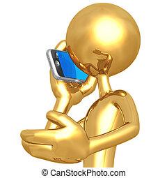 beszéd, cellphone