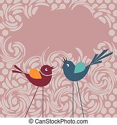 beszéd panama, madarak